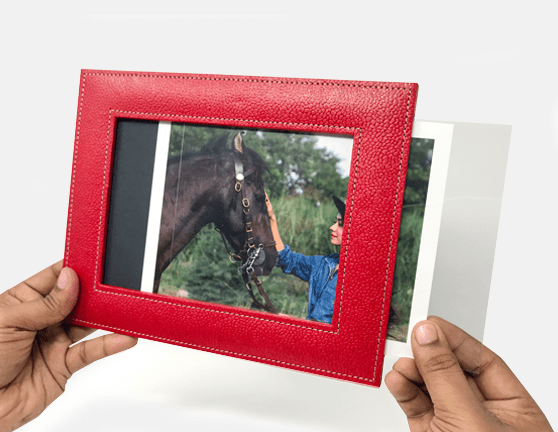 3c18e61c670 Eco Leather Photo Frames - Buy Soft Eco Leather Photo Frames Online ...