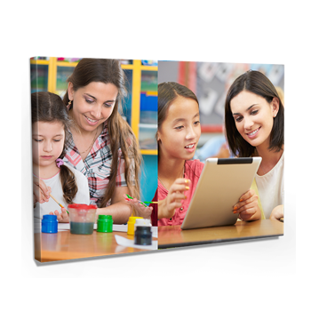 Teachers Day Gifts - Collage Canvas